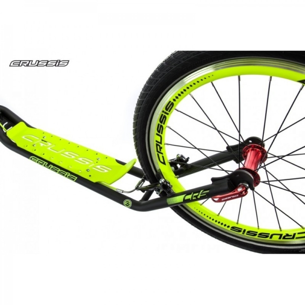 CRUSSIS URBAN 4.2 Black-Green 26/20 Tretroller
