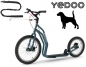 Preview: YEDOO MEZEQ Disc Dog-Scooter SPEZIAL blau
