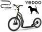 Mobile Preview: YEDOO MEZEQ Disc Dog-Scooter SPEZIAL schwarz