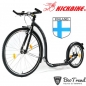 Preview: Kickbike Tretroller Sport G4 28/18Zoll Black