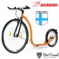Preview: Kickbike Tretroller Sport G4 28/18Zoll orange