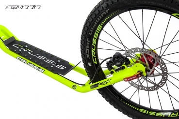 CRUSSIS Cross 6.2 Green 26/20HD Tretroller