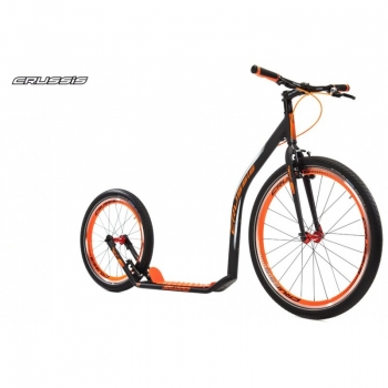 CRUSSIS URBAN 4.3 Black-Orange 26/20 Tretroller