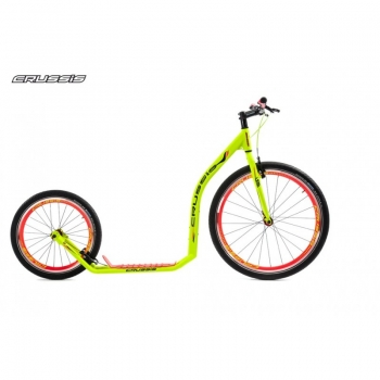 CRUSSIS URBAN 4.4 Neon-Green 26/20 Tretroller