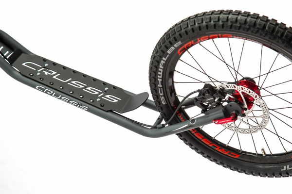CRUSSIS Cross 6.3 anthrazit 26/20HD Tretroller