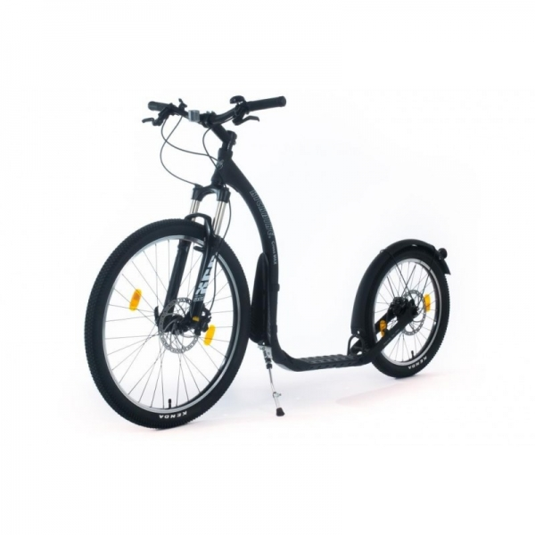 KICKBIKE Cross MAX 20HD+ Matt Black (Hydraulic)