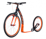 CRUSSIS Cobra Tretroller 4.3 schwarz-orange